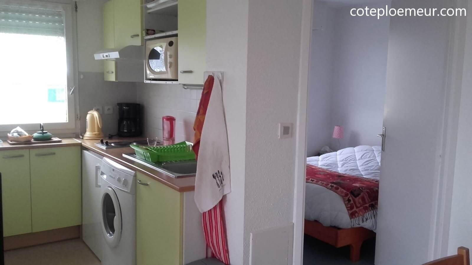Cuisine et chambre C